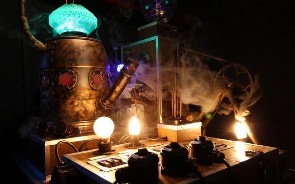 Tajemství stroje času: úniková hra pro 2-5 osob