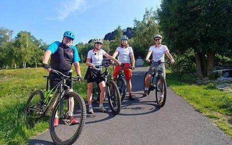 Výlet po Českém Švýcarsku na lodi a kole