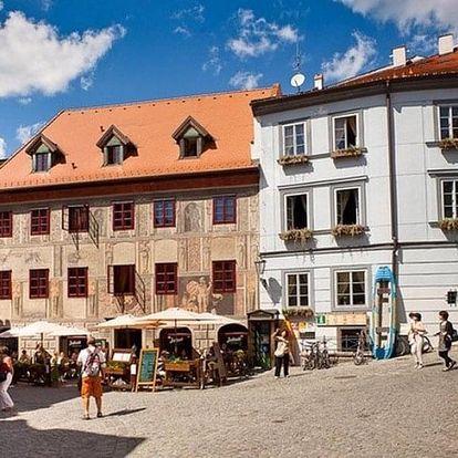 Česká republika, Jižní Čechy, vlastní dopravou na 5 dní snídaně
