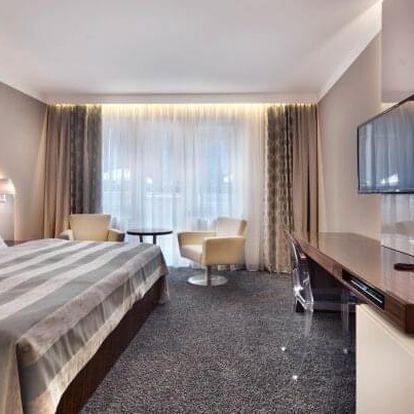 Karlovy Vary v luxusním Hotelu Prezident **** s Wellnes Resortem a Saunalandem, masáží a koupelí + polopenze