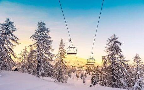 Šumava: Železná Ruda u hranic s Německem v objetí ski areálů v Hotelu Slávie s polopenzí