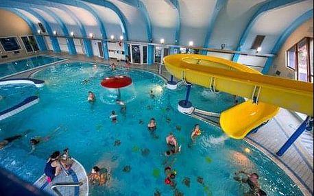 Tatranská Lomnica s AQUA relax centrem s bazény a polopenzí v hotelu Sorea Titris