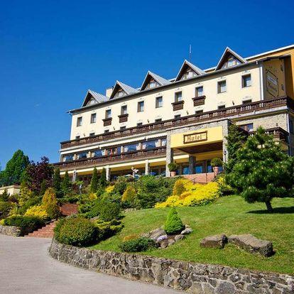 Hotel Husárik v kysucké přírodě s polopenzí