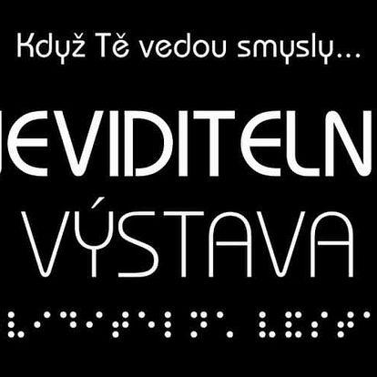 Pouť do světa nevidomých na Neviditelné výstavě v Praze