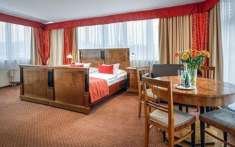 Dokonalý zážitek ze čtyřhvězdičkového hotelu Mucha s nádechem romantiky
