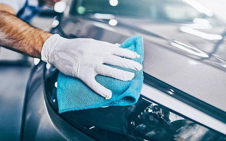 Nebuď prase: 1–4,5 hod. detailního čistění auta