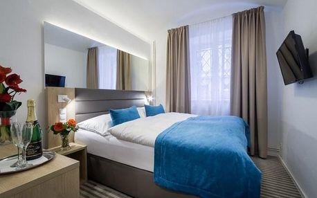 Elegance čtyřhvězdičkového hotelu White Lion vjedinečné atmosféře Žižkova