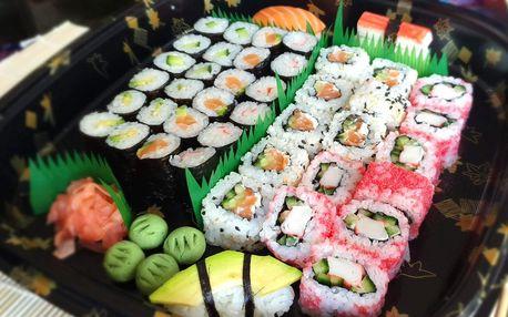 Sushi sety z bistra Dojo: 27 či 43 kousků s sebou