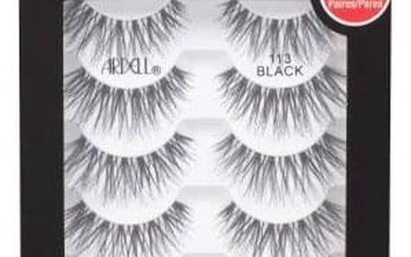 Ardell Wispies 113 5 ks 5 párů nalepovacích řas pro ženy Black