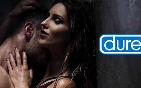Balíčky Durex: orgasmický i masážní gel a kondomy