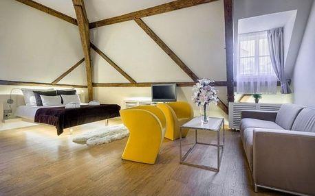 Designově výjimečný a přepychový pětihvězdičkový hotel Three Storks vcentru Prahy