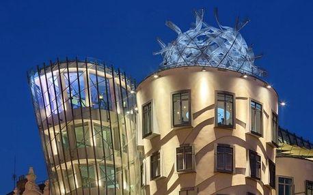 Užijte si výhled nejenom na Hradčany z roztančených oken unikátního hotelu Tančící dům