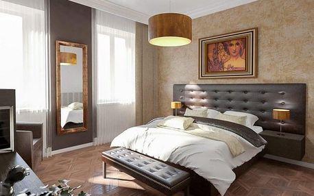 Luxusní hýčkání v čtyřhvězdičkovém Art Hotelu Alfons v Praze