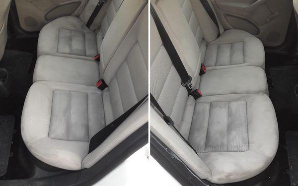 Profesionální ruční mytí interiéru vozidla včetně tepování4