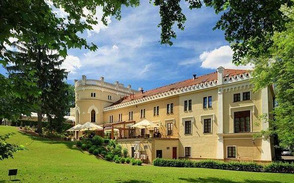 Čtyřhvězdičkový luxus Chateau St. Havel ve stověžaté Praze