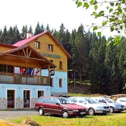 Pobyt v Krušných horách se snídaní i relaxací