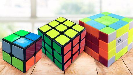 Rubikova kostka se stěnou o 4, 9 i 16 čtverečcích