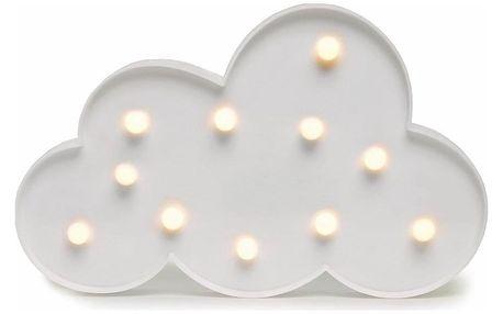 DecoKing Svíticí dekorace Mráček teplá bílá
