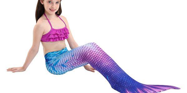 Kostým a plavky mořská panna MASTER Siréna - 120 cm2