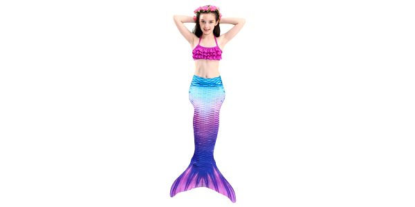 Kostým a plavky mořská panna MASTER Siréna - 120 cm5