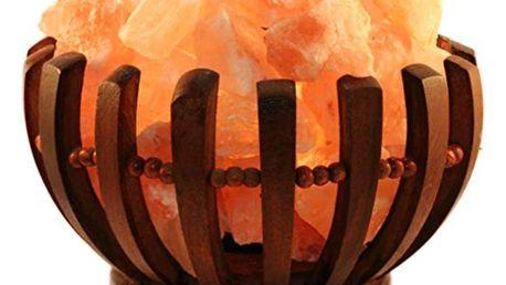 Marimex   Elektrická dřevěná miska se solnými krystaly 2-3 kg - kulatá   11105892