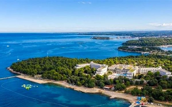 Hotel Delfin, Istrie, vlastní doprava, snídaně v ceně3