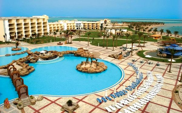 PALM ROYALE SOMA BAY, Hurghada, letecky, all inclusive