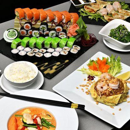 Voucher až na 500 Kč na asijská jídla v Karlíně