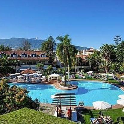 Španělsko - Tenerife letecky na 11-12 dnů