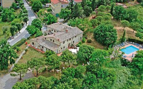 Itálie: Romantické Toskánsko ve stylovém Hotelu Il Colombaio *** s venkovním bazénem a polopenzí + dítě zdarma