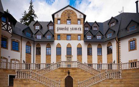 4* rodinný pobyt na zámku – 7×noc v deluxe pokoji, polopenze a neomezený wellness