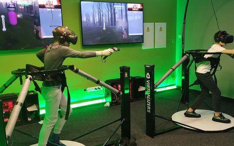 20 nebo 30 minut virtuální reality