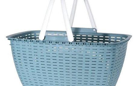 Nákupní košík Ratan, zelená