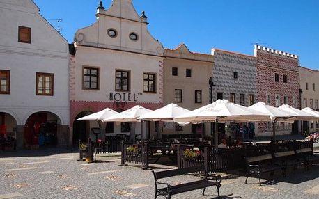 Česká republika, Jižní Čechy, vlastní dopravou na 8 dní snídaně