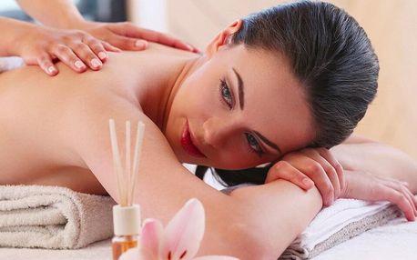 60 či 90minutová masáž dle výběru z 5 druhů