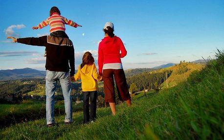 Rodinná dovolená v Jeseníkách (7 nocí) se slevou až 25% v Malé Morávce