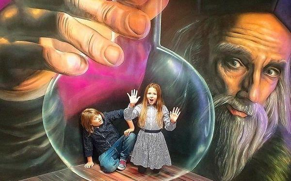 Celoroční vstupenka pro 1 dítě do 15 let do Muzea fantastických iluzí3