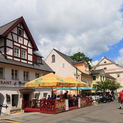 Česká republika, Západní Čechy, vlastní dopravou na 8 dní snídaně