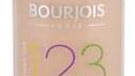 BOURJOIS Paris 123 Perfect 30 ml dlouhotrvající make-up pro ženy 51 Light Vanilla