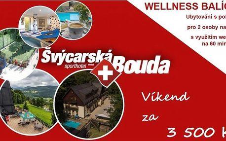 Wellness víkend pro 2 osoby ve Špindlerově Mlýně