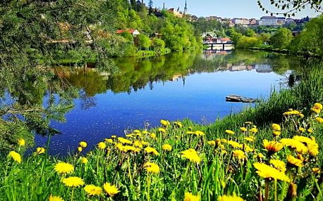 Romantika u řeky v Táboře