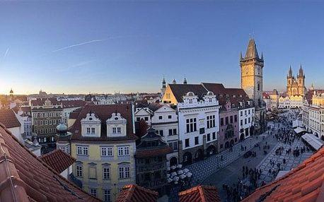 Česká republika, Praha, vlastní dopravou na 8 dní snídaně