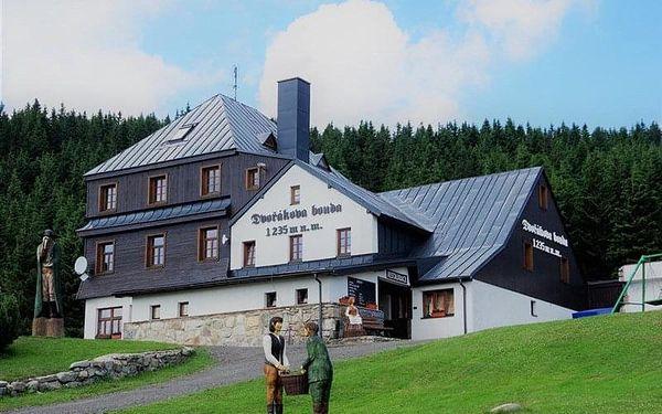 Špindlerův Mlýn - DVOŘÁKOVA bouda, Česko