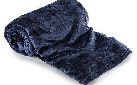 Jahu Deka Light Sleep New tmavě modrá, 150 x 200 cm