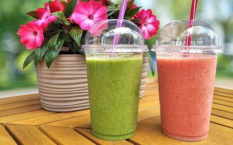 Letní osvěžení: 1 nebo 2 ovocná smoothie s sebou