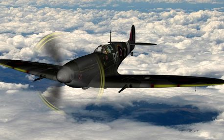 Supermarine Spitfire - Simulátor 15 minut