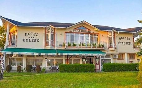 Győr v Hotelu Bolero *** se vstupem do termálních lázní Rába Quelle, welcome drinkem a polopenzí