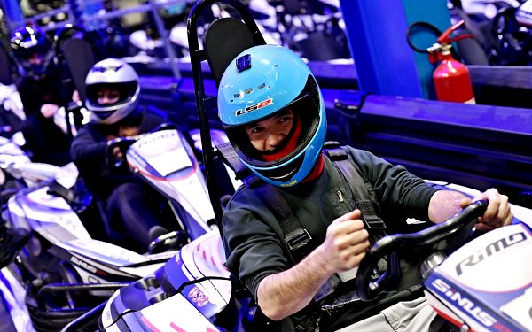 2 jízdy v motokáře5