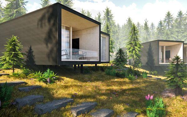 Tree House v Jasné: pobyt uprostřed lesa s wellness