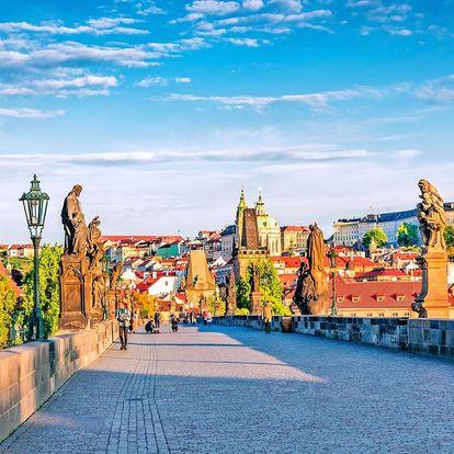 Pohodový pobyt v Praze se snídaní